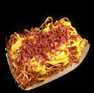 Menu-Hawg-Food-Hay-Bale-Curly-Fry-Bacon-Cheese